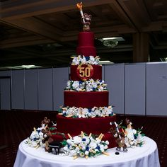 Cake with bear Olympic Games '80, in the style USSR