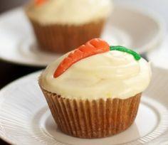 Worteltaart Cupcake
