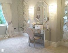 Konsola Toaletka lustrzana nowoczesna w stylu Glamour PATRICIA - zdjęcie od PRIMAVERA-HOME.COM
