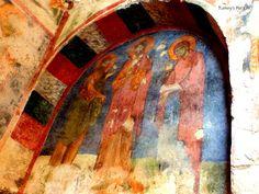 Frescoes in St. Nicholas Church, Demre, Turkey