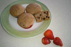 Ricetta Muffin al cioccolato e fragola