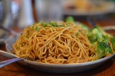 Yakisoba Noodles Recipe served at Ohana in Polynesian Resort at Disney World
