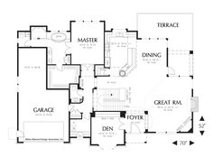 House Plan 1319A -The Jennings