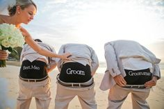 Cute novelty undies for groomsmen