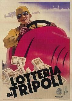 Leopoldo Metlicovitz Lotteria di Tripoli, 1937