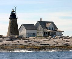 Mount Desert Rock Lighthouse, Maine at Lighthousefriends.com