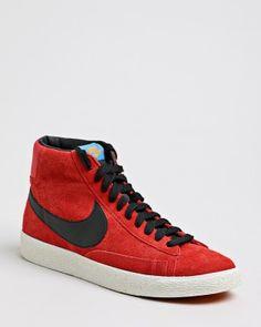 NIKE Blazer Mid Premium Suede Sneaker rot € 99,99