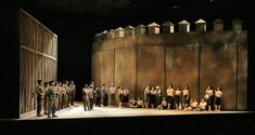 Carmen, Santa Fe Opera, sets by Neil Patel and costumes by Kersti Vitali Rudolfsson, photo by Ken Howard © 2006