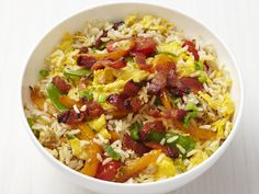 Fried Rice with Bacon recipe from Food Network Kitchen via Food Network