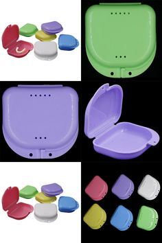 Visit to Buy Newest Dental Denture Teeth Storage Case Box
