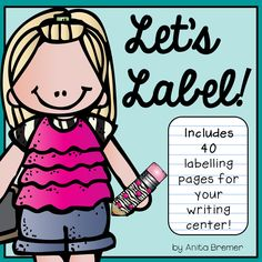40 labelling pages to add to the writing center