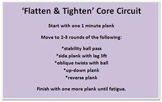 Flatten & Tighten Core Circuit