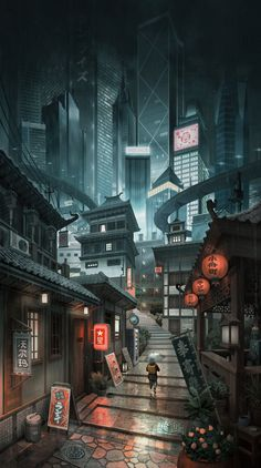 Share with me your wallpaper Here's mine. - Humor Photo - Humor images - Share with me your wallpaper Here& mine. The post Share with me your wallpaper Here& mine. appeared first on Gag Dad. Cyberpunk City, Cyberpunk Aesthetic, Fantasy Art Landscapes, Fantasy Landscape, Urban Landscape, Illustration Art Nouveau, Japon Illustration, Anime Scenery Wallpaper, City Wallpaper
