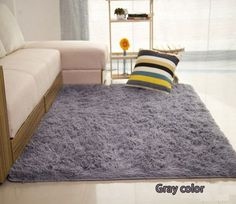long hair solid carpet shaggy area rugs antislip carpets for living room bedroom hotel