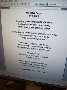 Sensory Poem Template & Rubric: Poetry For Any Subject ...