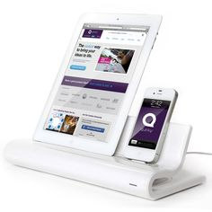 iPad/iPhone dock. Love it!