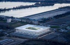 Architekten: Herzog & de Meuron, Basel Standort: Cours Jules Ladoumègues, F–33300 Bordeaux
