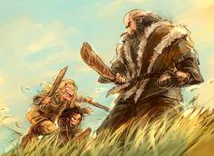 the hobbit fili kili dwalin balin not my art Thorin Durin family Uncle Thorin I love these brothers Hobbit Art, O Hobbit, Fili Et Kili, The Misty Mountains Cold, Bagginshield, Thorin Oakenshield, Bilbo Baggins, Legolas, Tauriel