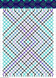 28 strings, 36 rows, 7 colors
