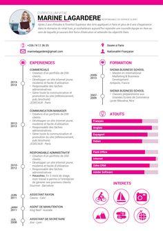 Modele de CV Communication - by Mycvfactory
