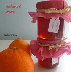 Grazie a Carmela ho fatto una gelatina di arance squisita e molto utile!  http://www.ipasticciditerry.com/gelatina-di-arance/