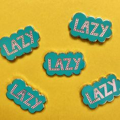 lazy pin