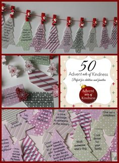 free printables advent acts of kindness
