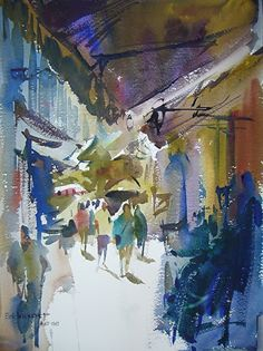 Eric Weigardt watercolor - Google Search