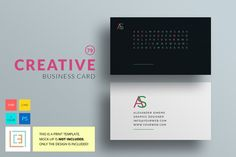 Creative - Business Card 79 by Cooledition on Creative Market
