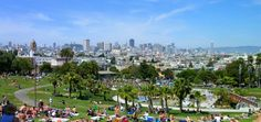 Summer in Dolores Park.