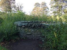 Slate Hole Wall Edinburgh