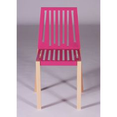 Marlowe Chair Telemagenta, $299, now featured on Fab.