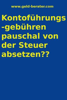 - Steuern sparen mit Kontoführungs-gebühren Here you will find out how you can deduct account maintenance fees from the tax. In addition, you will learn a lot of expenses with which you can save an incredible amount of taxes! Money Tips, Money Hacks, Style Vintage, Helpful Hints, Accounting, Life Hacks, Finance, Management, Easy