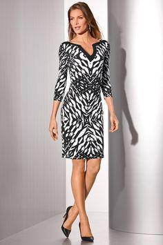 Boston Proper Graphic print tunic dress #bostonproper