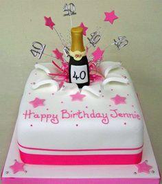 lady birthday cakes | Pink Explosion Cake | Birthday Celebration Cakes | Birthday Cakes to ...