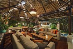 Villa Asta - Living areas at night