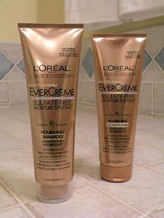 L'Oreal EverCreme Shampoo and Conditioner. If I use anything else my scalp is disgusting. This stuff makes my hair like SILK!