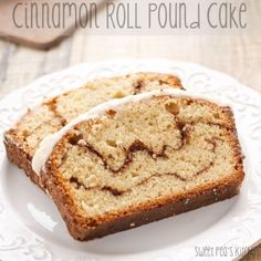 Sweet Pea's Kitchen » Cinnamon Roll Pound Cake - all the yum without the yeast, nom!