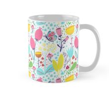 'Funky Flowers' by Tessa Rath Mugs, Tableware, Illustration, Floral, Flowers, Pattern, Stuff To Buy, Shop, Products