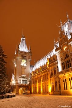 Palace of Culture, Iasi, Romania www.haisitu.ro #Romania #travel #Vacation