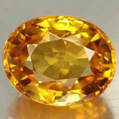 My birthstone - the golden Topaz.
