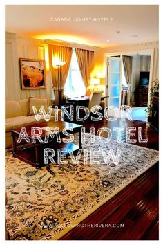 Windsor Arms Hotel review. Check in to the the 5-star #luxury #hotel in the #Yorkville area of #Toronto and enjoy having an entire luxurious suite to yourself! #Canada #travel #Ontario #traveltips