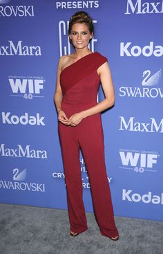 Stana Katic aux Women in Film's Crystal + Lucy Awards 2013