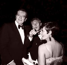 Steve McQueen and His Wife with john Wayne   Personal Life