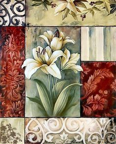 .106...Framed Lilies