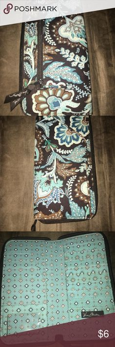 Vera Bradley organizer. Vera Bradley organizer. Bigger than a wallet but has wallet features. Vera Bradley Bags Wallets