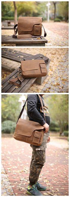 """2015 Men Good Quality Shoulder Bag Men's Travel Bags casual messenger Bags for Business 1092 Model Number: 1092 Dimensions: 14.9""""L x 3.1""""W x 11.8""""H / 38cm(L) x 8cm(W) x 30cm(H) Weight: 3.3lb / 1.5kg H"""