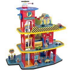 Kidkraft Deluxe garage