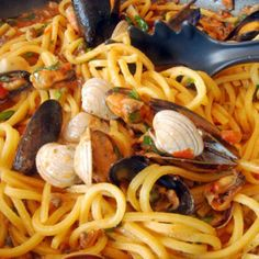 Clams and Mussels Al Fuoco (on Fire)  ask me :-) www.Piamaya.SBC90.com