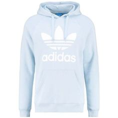 adidas Originals Sweatshirt easblu ❤ liked on Polyvore featuring tops, hoodies, sweatshirts, adidas originals sweatshirt, blue sweatshirt, blue top and adidas originals